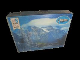 Vintage Milton Bradley MB Big Ben Mt Robson British Columbia 1000 Piece Puzzle - $14.80