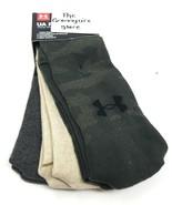 Under Armour 3 Pack UA Phenom Training Graphic Crew Socks Men's 8-12 Wom... - $19.80