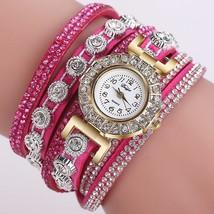 2018 Watch Women Bracelet Ladies Watch With Rhinestones Clock Womens Vin... - $10.87