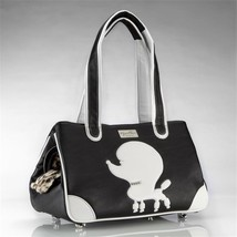 JCLA PP-B-FL Pampered Poodle Faux Leather, Black - $210.42
