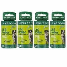 Evercare Extra Sticky Pet Lint Roller Refill 60 sheets - Pack of 4 - $17.39