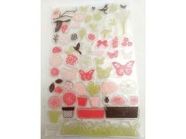 Build a Flower Pot Clear Stamp Set