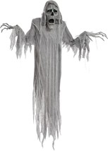 Phantom Prop Hanging Reaper Animated 72 Inches Sounds Haunted House MR12... - £43.11 GBP