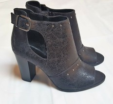 Women's Simply Vera Vera Wang Bologna Ankle Boots Shoes Black - $20.00