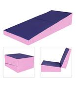 "60""x30""x15"" Folding Incline Gymnastics Mat Ramp Cheese Wedge Tumbling Ma... - $219.99"