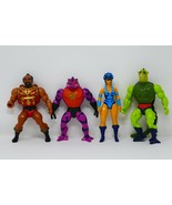 Mattel He-Man Masters of the Universe MOTU Incomplete Action Figures Lot A - $56.99