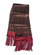 Silk men's scarf Two side scarf - $20.00