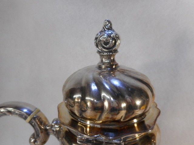 Eugen Ferner Sterling Coffee Pot 925 Dated 1963 Original Patina
