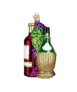 Old World Christmas Fruit Of The Vine Glass Blown Ornament - $18.99