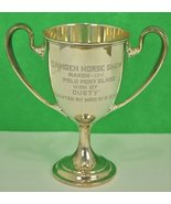 'Camden Horse Show March 1912 Polo Pony Class Sterling Trophy' - $1,200.00