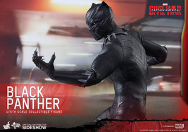 Hot Toys Black Panther 1/6 Scale Figure Captain America Civil War Movie ... - $466.57