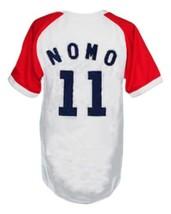 Hideo Nomo #11 Kintetsu Buffaloes Japan Baseball Jersey White Any Size image 2
