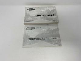 2010 Chevy Malibu Owners Manual Handbook Set OEM Z0A1498 - $23.75