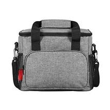 Esonmus Lunch Bag Lunch Box Foldable Picnic Bag Insulated Bag Bento Bag Ice Bag  - $19.25