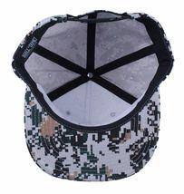 Hall Of Fame Chunk Heavy Embroidery Digi Camo Snapback Baseball Hat Cap NWT image 7