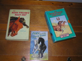 Vintage To Now Lot Of Marguerite Henry Black Stallion's Sulky Colt Horse Books - $13.99