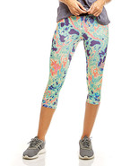 Soffe Electric Marble Low-Rise Capri Leggings in Size XL NWT - $14.99