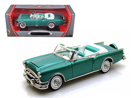 1953 Packard Caribbean Green 1/18 Diecast Car Model by Road Signature - $61.95