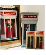 Hallmark Keepsake Magic 1995 Superman Telephone Booth Ornament Light & M... - $27.23