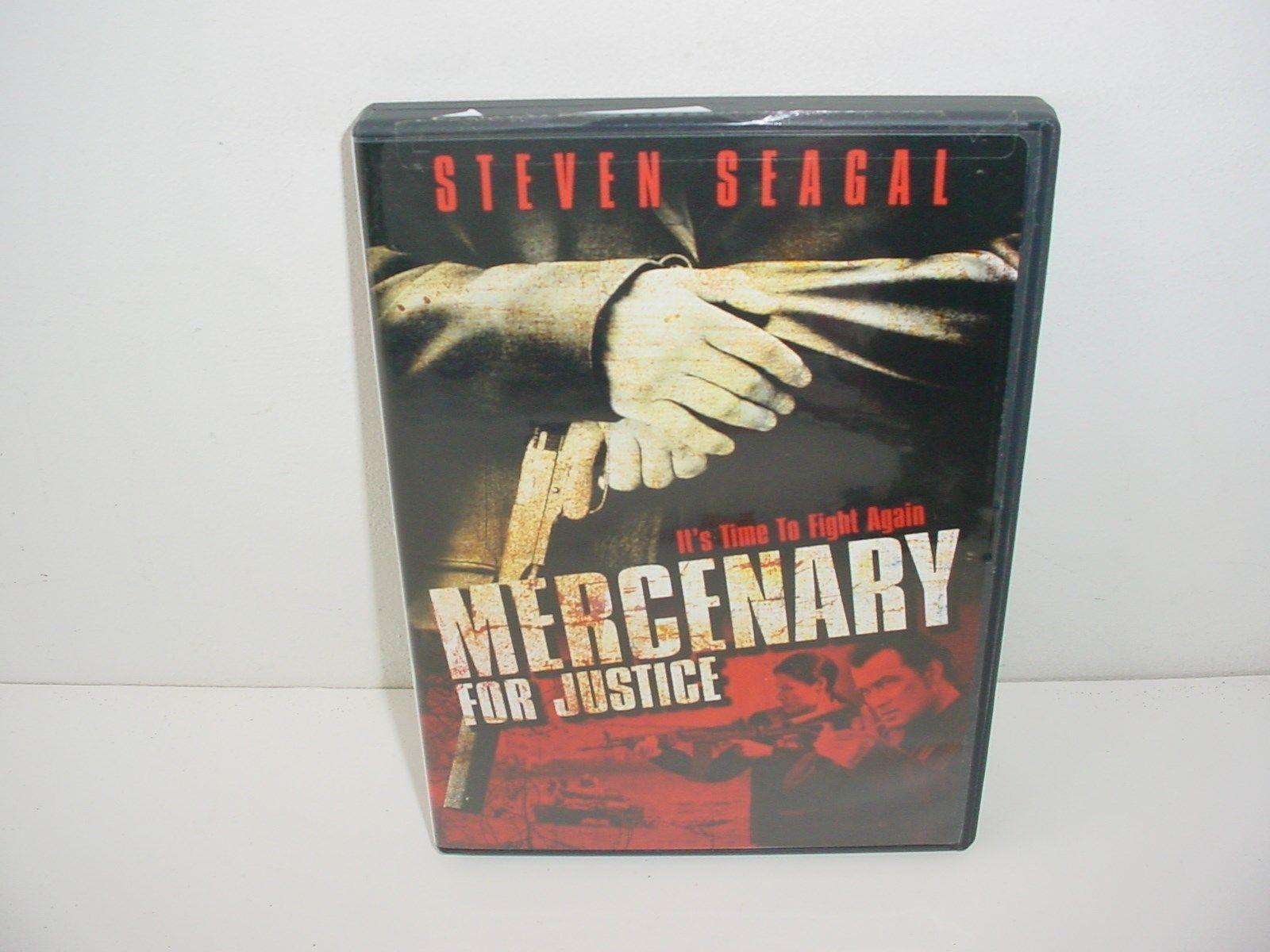 Mercenary for Justice DVD Movie