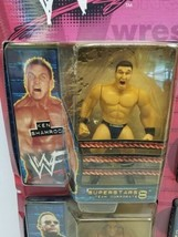 New WWF BONE CRUNCHIN Figure Superset 1999 Jakks KANE ROCK Shamrock Big Boss Man image 2