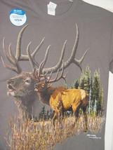 Gildan Elk Gray T-Shirt Size M - $17.00
