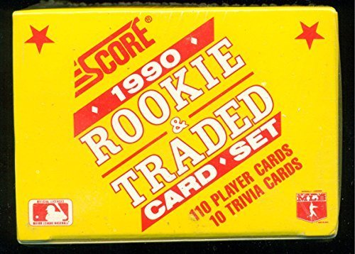Lot of Qty 14 1990 Score Rookie & Traded Complete Factory Sealed Set with Frank