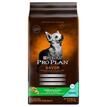 Purina Pro Plan Savor Shredded Blend Small Breed Formula Chicken & Rice ... - $27.62