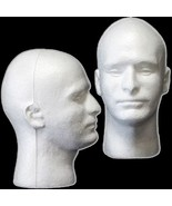 New Prop Building Supplies-MANNEQUIN HEAD-Halloween Costume Mask Wig Display-MAN - $11.73