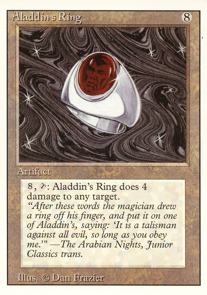 Magic: The Gathering 3rd Edition - Aladdin's Ring