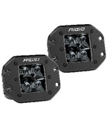 RIGID Industries D-Series PRO Flush Mount - Spot LED - Midnight Edition ... - $279.99
