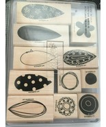 Stampin Up Two Step Pick A Petal 11 Complete Set Retired New  - $17.57