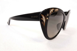 GUCCI Women's Sunglasses GG3828/F/S 807 Black 55-17-145 MADE IN ITALY - ... - $299.95