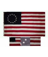 ALBATROS 3 ft x 5 ft Embroidered Betsy Ross Historical Synthetic Cotton ... - $73.93