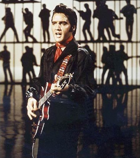 Elvis guitar strap 68 comeback