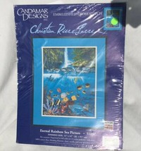 Eternal Rainbow Sea Picture CANDAMAR DESIGNS Cross Stitch Kit 51057 Open... - $9.49