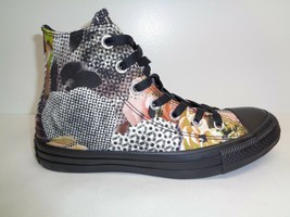 Converse Size 7.5 DIGITAL FLORAL HI Top Canvas Fashion Sneakers New Wome... - $88.11
