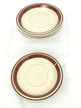 """Contemporary Chateau Hand Painted Stoneware Japan 6"""" Saucer Plates ~ 8 - $28.01"""
