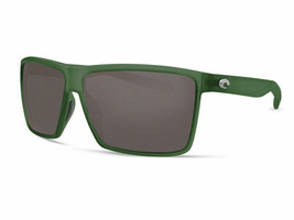Costa Del Mar Rincon Sunglasses RIN-182-OGGLP Palm Green 580G Grey Polar... - $256.41