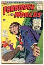 Forbidden Worlds #80 1959-NEANDERTHAL cover- CC Beck F/G - $35.31