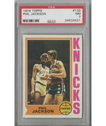 1974 Topps Phil Jackson #132 PSA 7 P480 - $11.13