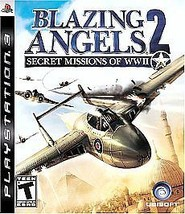 Blazing Angels 2: Secret Missions of WWII (Sony PlayStation 3, 2007) GOOD - $5.28