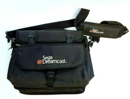 Authentic Official Sega Dreamcast Travel Bag Tote Carrying Case with Str... - $122.55