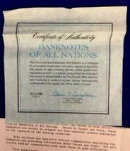 Vintage Franklin Mint - 135 Complete Uncirculated Banknotes of All Nations World image 3