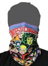 Marvel Champions Face Covering neck gaiter buff sun protection quick dry UPF+50 image 3