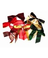 Assorted Holiday Ribbon Bows /200 CT - $89.95