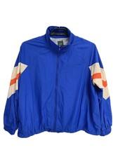 Vintage Wild Fable women's jacket windbreaker full zipper blue multicolo... - $19.58