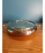 "Vintage Kent Silversmiths Twinhandle Serving dish bowl tray 15"" (Read) - $14.80"