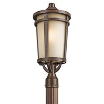 Kichler 49074BST Atwood Outdoor Post Light Brown Stone - $204.00