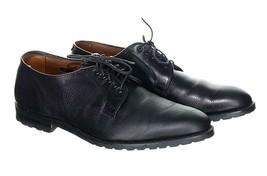 Allen Edmonds Men's Leeds Solid Black Pebbled Grained Leather Oxfords 11.5 - $128.79